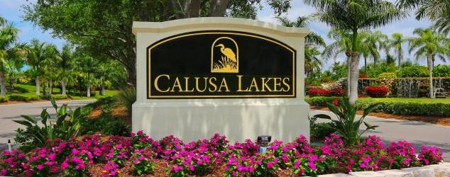 Calusa Lakes Golf Course Homes for Sale